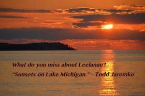 Leelanau School Alumni & Friends What-I-Miss-about-Leelanau-Sunsets-on-Lake-Michigan-Todd-Jaremko
